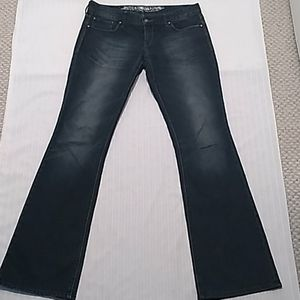 Express Regular Fit Low Rise Bootcut Jeans